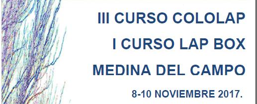 III Curso Cololap – Medina del Campo: 8 a 10 de Noviembre de 2017
