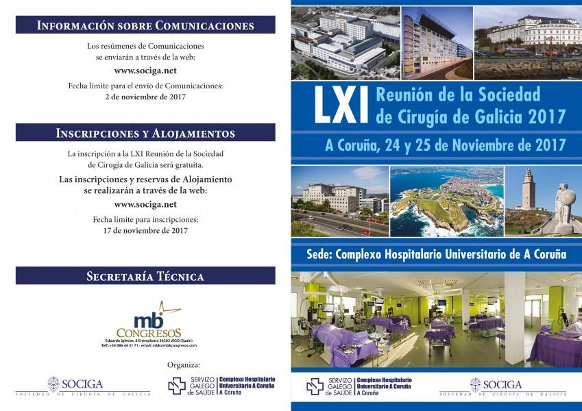 LXI Reunión Anual de la SOCIGA – 2017