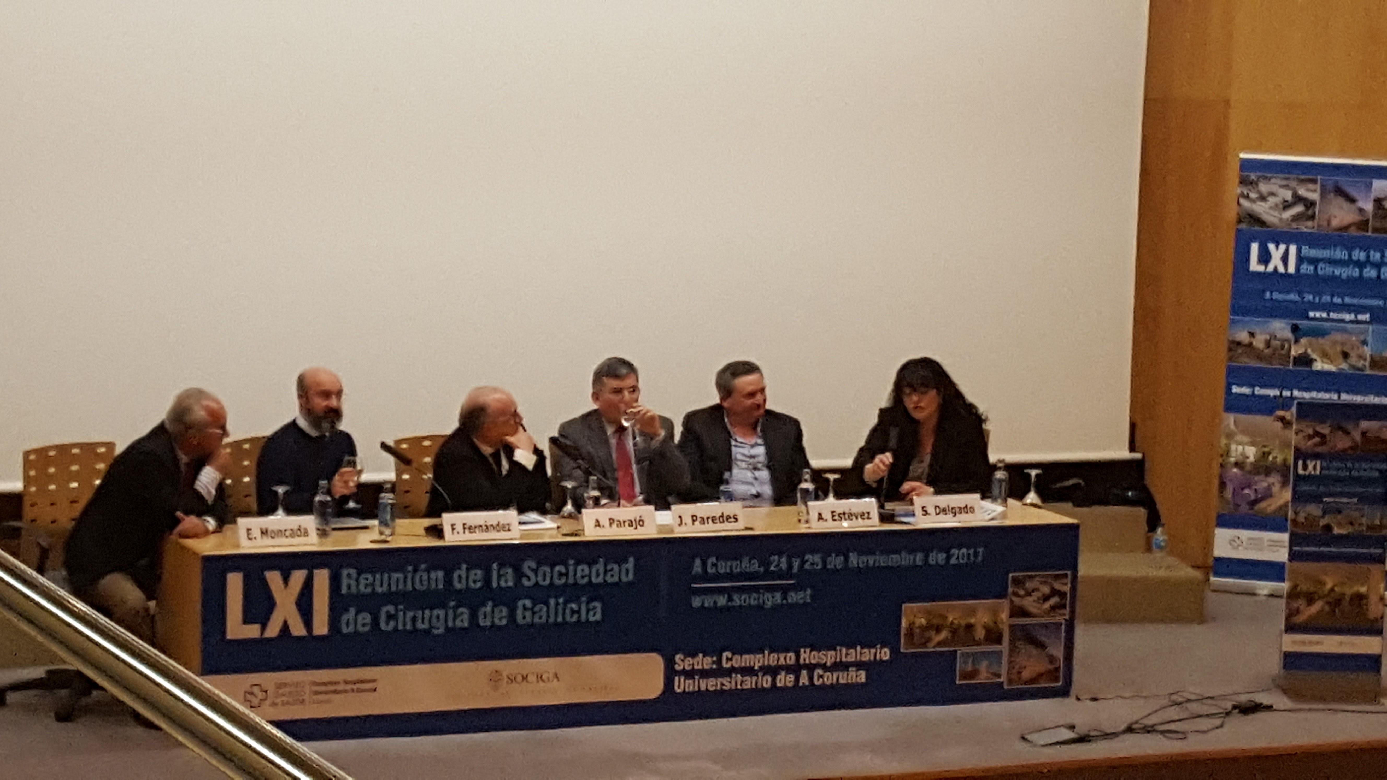 XLI Reunión Anual de la Sociedad de Cirugía de Galicia: A Coruña 2017