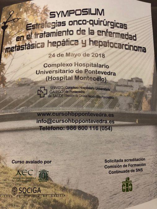 Symposium de estrategias onco-quirúrgicas en el tratamiento de la enfermedad metastasica hepatica y hepatocarcinoma